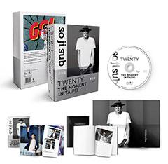 蘇志燮TWENTY:出道20年台灣專場粉絲會DVD+寫真冊+時光筆記本+海報 全球獨占限量