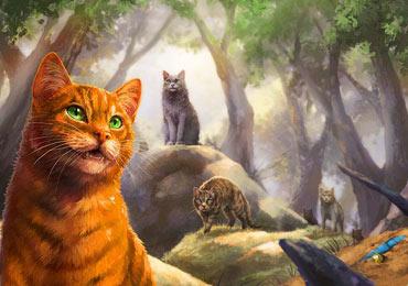 封面重製幕後秘辛:貓戰士十週年紀念版