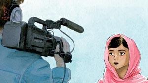 最年輕「諾貝爾和平獎得主」的首本圖畫書_《馬拉拉的魔法鉛筆》